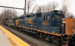 CSX 6531 third on Q404